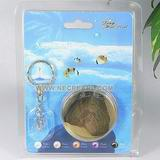 wholesale 100pcs elegant rice freshwater wish pearl key chain