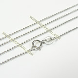 rhodium plated sterling silver chain wholesale