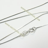 rhodium plated sterling silver necklace chain wholesale