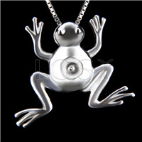 Newest 925 Sterling Silver Frog Pendant fitting