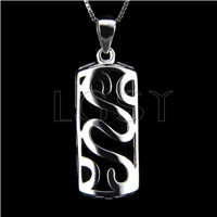 Newest 925 Sterling Silver Long design Pendant fitting
