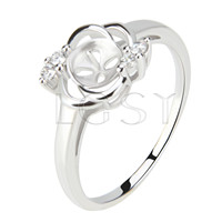 Latest Wholesale 925 Sterling Silver ring fitting