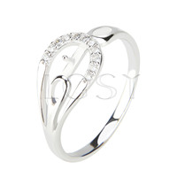 Latest Wholesale Simple design 925 Sterling Silver ring fitting